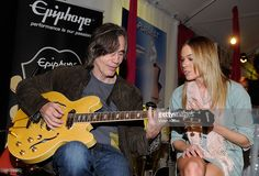Musicians Jackson Browne and LeAnn Rimes attend the GRAMMY Gift Lounge during The 53rd Annual GRAMMY Awards at Staples Center on February 11, 2011 in Los Angeles, California.