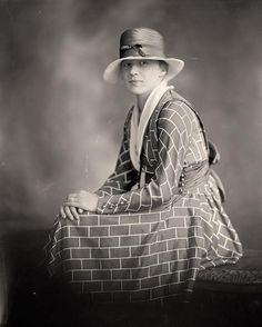 Great pattern If you feel like looking like a brick wall.... Swartzbaugh, C.e., Mrs.