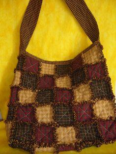 Bolso Rag Quilt, Materiales para su elaboracion disponibles en Bernabela Calle 126a # 7c - 15 Tel: 6200873 bernabelacolombia@live.com Bogota - Colombia