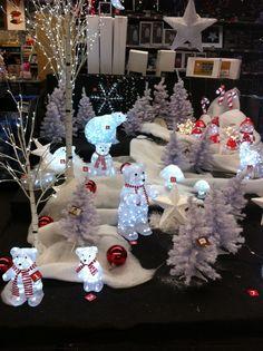 Truffaut: déco Noel extérieure Led