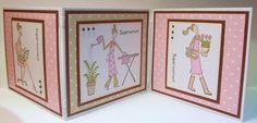 Little Claire's Designs: January Club Card Tutorial - Superwoman