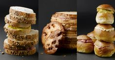 Our Chef's party loaves come in three delicious versions: miniature sandwiches, baguette or brioche. But you can of course also choose your own favourite spread!