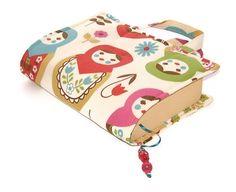 Fabric Book Cover  RUSSIAN DOLLS CREAM  £16.00