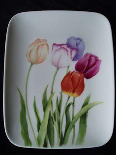 Bloemen « Diny de Beer – Porseleinschilderes