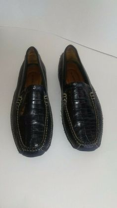 ae00cfdc5fa H S Trask Vibram ROVER Mens Black Driving Loafers Slip On SZ 9.5M H3170  Shoes #