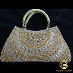 Handbag Online, Purses Online, Silk Thread, Clutch Purse, Pearl Beads, Silver Color, Straw Bag, Pearls, Crystals