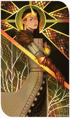 Inquisitor Lavellan by TheBoyofCheese on DeviantArt