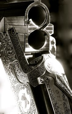 Open action on TF Torino 12 GA. I'm not really into guns but I love the engraving and angle of this pic!