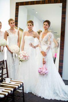 Photography: Betsi Ewing Photography - betsiewing.com  Read More: http://www.stylemepretty.com/california-weddings/2014/09/02/behind-the-scenes-bridal-fashion-with-carolina-herrera/