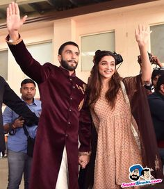 Bajirao Mastani Promotional Event -- Ranveer Singh and Deepika Padukone Picture # 326243