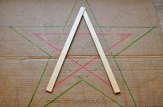 Blog sobre decoración y manualidades Diy, Tableware, Blog, Wooden Stars, Xmas, Home, Manualidades, Originals, Ornaments