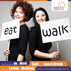 Are you a workaholic? Does 'no time for ‪#‎exercise‬' mantra fit your lifestyle? Well then, you really need to change your attitude towards your body.Follow this simple tip when at work.  Visit us: www.aasthahealthcare.com  ‪#‎ExerciseMantra‬ ‪#‎SimpleTip‬ ‪#‎Attitude‬ ‪#‎Body‬ ‪#‎Mantra‬ ‪#‎Lifestyle‬ ‪#‎Workaholic‬