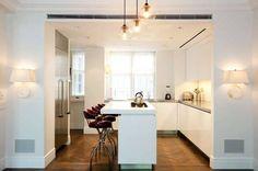 l kitchen design with island