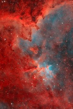 The Heart Nebula, IC 1805, Sh2-190, lies some 7500 light years away from Earth and is located in the Perseus Arm of the Galaxy in the constellation Cassiopeia. This is an emission nebula showing glowing gas and darker dust lanes.