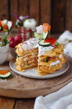 Blogbeitrag Das Knusperstübchen Waffeln mit Süßkartoffeln