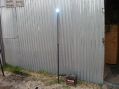 LED 12 Volt Light can get connected to a 12 Volt car Battery for outdoors. Bbq Stand, Penny Auctions, Sell Your Stuff, Steel Plate, Solar, Outdoors, Led, Outdoor, Outdoor Rooms