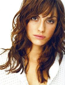 Bangs Short And Long Layered Curly Hairstyles Hair With
