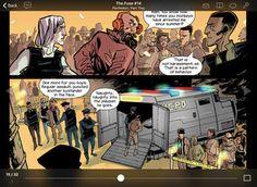 Leer cómic en el iPad Chunky Comic Reader en AppStore