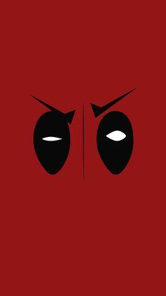 nice deadpool-hero-eye-logo-art-film-iphone6-plus-wallpaper