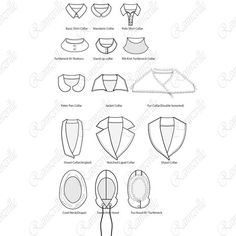 Collars Fashion Flat Library Pack