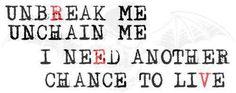 Avenged Sevenfold lyrics I want tattooed on my wrist in memory of The Rev.