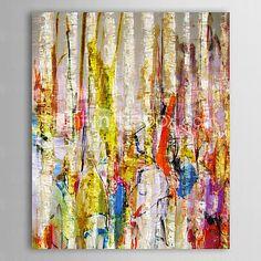 iarts®hand óleo pintada pintura selva abstracta marco estirado - EUR €48.01