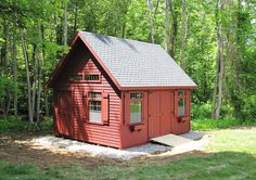 This 14x18 Elite Cape can be customized to your liking. You have the ability to change the siding color, trim color, shutter color, door color and even the shingle color! Design your own Kloter Farms shed today!
