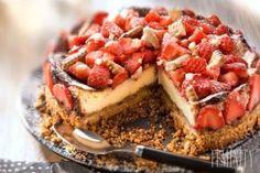 Super tip na dezert: Lahodný ovocný cheesecake z ovsených vločiek uspokojí vaše chúťky | Feminity.sk