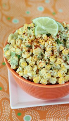 Mexican Crazy Corn Salad - I've had something similar, very good