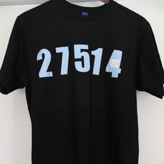 Chapel Hill zip shirt.