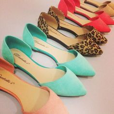 shoes ballerina flats pointy toe shoes pastel pastel flats