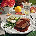 Beef Tenderloin With Henry Bain Sauce Recipe | MyRecipes.com