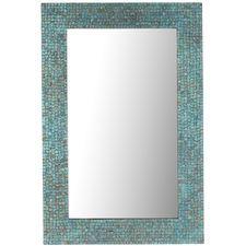 Azure Mosaic 24x36 Mirror