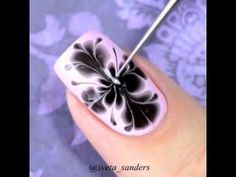 NAIL ART COMPILATION: Drag Marble Nails by Sveta Sanders. Difficult, but aweeeeesome!!!
