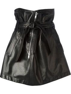 Givenchy Lambskin Skirt - Luisa World - Farfetch.com
