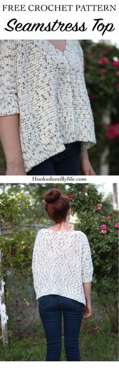 Free Crochet Pattern : The Seamstress Top — Hooked On Tilly