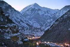Keith and I spent our 1st anniversary here. Would LOVE to go back! Ouray, Colorado - USA