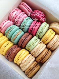 Where to get the best macarons in Singapore.