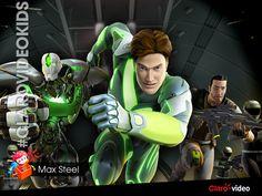 Disfrutá de las nuevas aventuras de Max Steel que ya llegaron a #ClarovideoKids.