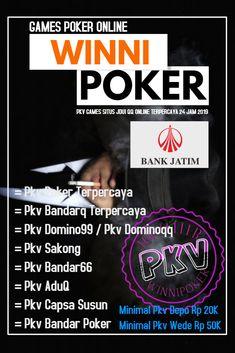 winipokerqq.net situs pkv games poker online terbaik uang asli yang gampang menang dan paling fair dengan minimal deposit sebesar 20 ribu Rupiah. Games poker online, bandarq, dominoqq atau domino 99, aduq, capsa susun, bandar poker, bandar 66, sakong online dan perang baccarat hanya dengan satu user id saja. Judo, Poker, Games, Gaming, Toys