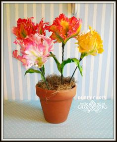 Large Tulips by Bethann Dubey