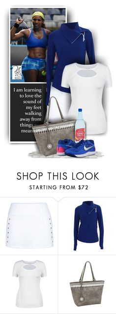 Find your tennis outfits at Nicole's Tennis Boutique on Polyvore featuring Jofit, Nike and Sydney Love!