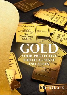 Goldyour protective shield against Inflation ... http://thespottydogg.com/review/gold-bonus-card/