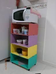 Resultado de imagem para armário caixote cozinha