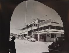 Ben Glaha   Route 66 Arizona Hotel  Original Photograph             c 1960s