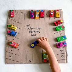 alphabet parking lot activity