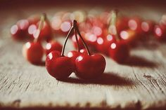 Cherries are a precious source of nutrition that also detoxifies the body. They increase kidney function and are therefore also a diuretic.  Cherries are beneficial for those suffering from rheumatism, gout, arteriosclerosis (hardening of the arteries) and osteoarthritis.