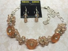 Elegant Crystal and Antique Button Necklace by BornAgainButtons, $25.00