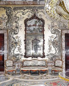 Kings were the Kings staying at home; now we have to find the way to be the Kings of ours. #stayathome - Gasparini Room or Charles III chamber in the Royal Palace of Madrid.This magnific room is a true masterpiece from Charles III era. It was completely designed by Mattia Gasparini and there the King dressed in the typical court protocol. For that reason his Majesty received private audiences in this chamber too.Each design of Gasparini had a big European army of masters behind: for the… King Dress, Traditional Interior, Stay At Home, Source Of Inspiration, Fine Art, Madrid, Antiques, Royal Palace, Instagram Posts