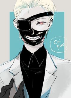 Tokyo Ghoul Kaneki >>> I thought he was Naki>> ma boi got a glow up